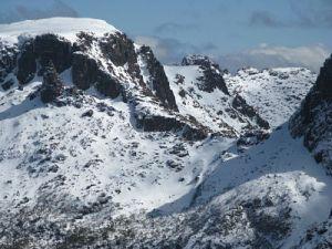 the awesome terrain of Big Gun Pass