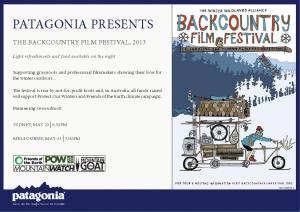 BC Fest Patagonia