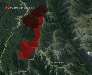 The Feathertop fire as of Jan 31