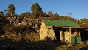 the hut at Lake Nameless