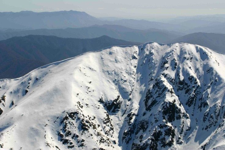 East Face of Mt Feathertop, VIC. Image from the film by Stephen Curtain.
