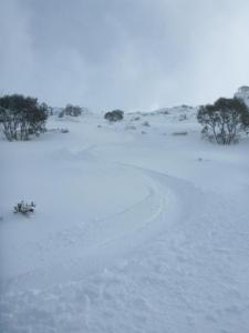 conditions at Mt Wheatley, 25/6/14