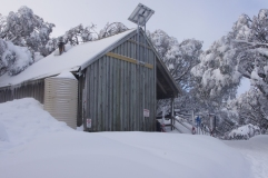 Bluff Spur Hut, Mt Stirling