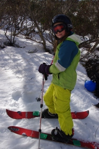 at the splitfest, Mt Hotham, 2013