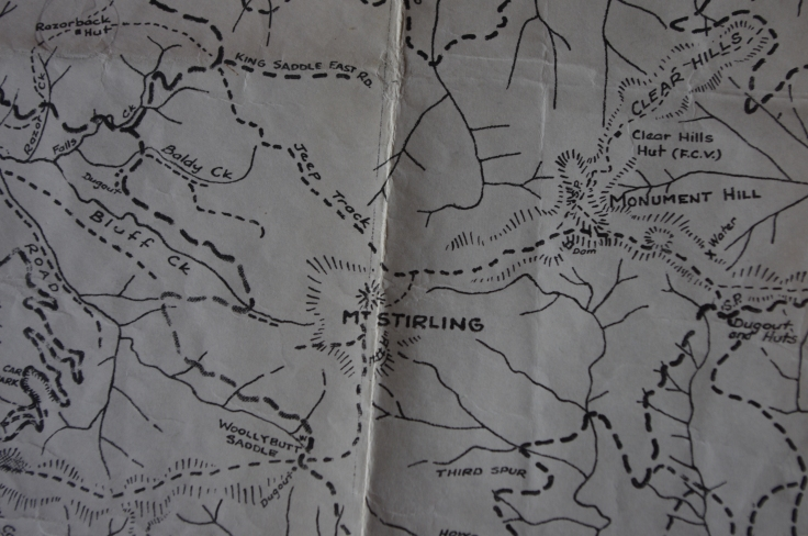 Mt Stirling. Before Bluff Spur, GGS and Craig's Huts, and no school school at Telephone Box Junction.