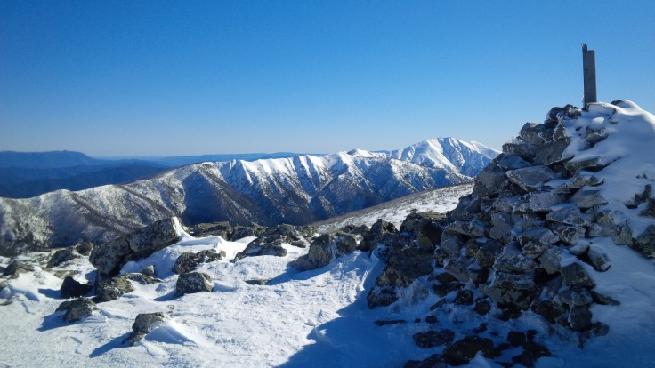 Feathertop from Mt Loch