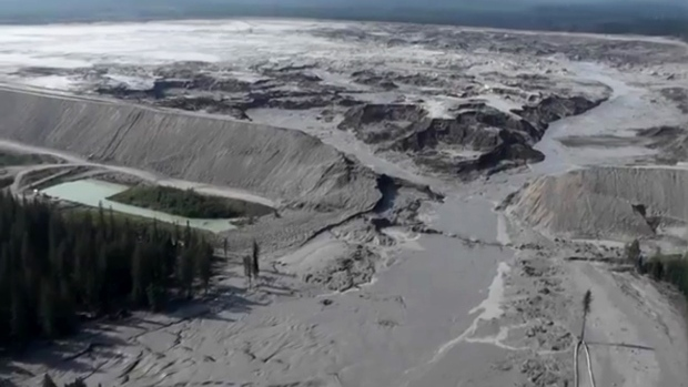 Mt Polley Mine tailings dam failure