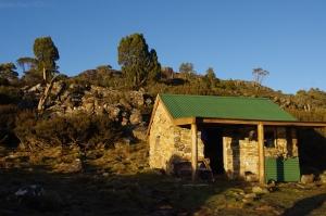 Lake Nameless hut, TAS