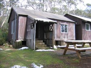 Parks Service huts, Mt Field