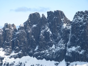 The impressive east face of Geryon