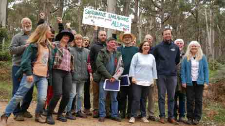 lily-dambrosio-announcing-protection-strathbogie-forestsmall