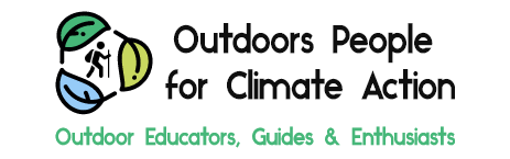 square logo - Outdoor People for Climate Action